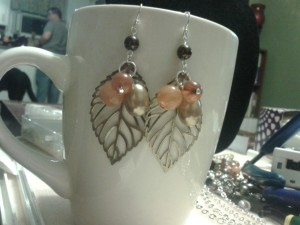 Pair of earrings I made